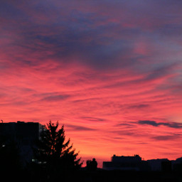 sunrise sun germany nature colorful