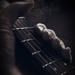 guitar music hands emotions