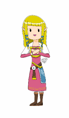 zelda skywardsword videogame dibujo drawing