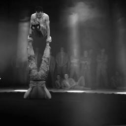 circus flicflac artistics blackandwhite