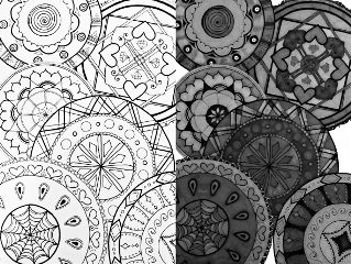 art interesting dibujo mandalas blackandwhite