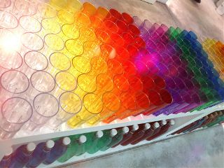 wapcircles colorful glass