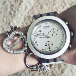 watch swatch juicycouture white nice