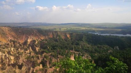 canyon gabon view