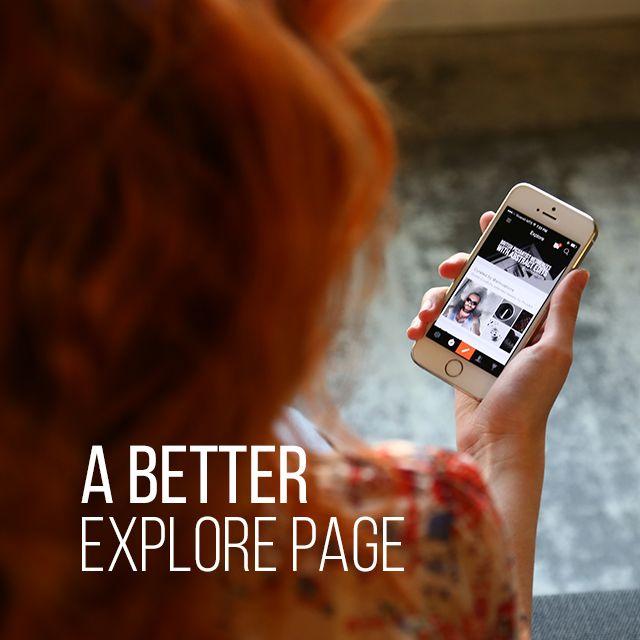 explore page PicsArt