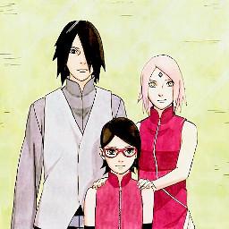 sasusaku love family manga sarada