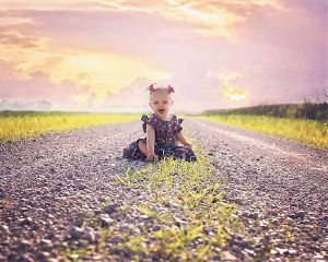 sunset baby photography love people