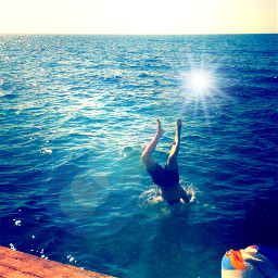summer sea watchme swim forever