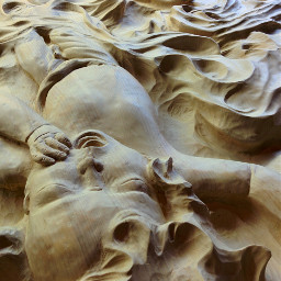 pov wood carving emotions people