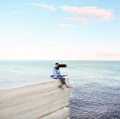 beach freetoedit sky