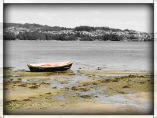 beach blackandwhite nature photography retro