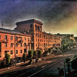 yerevan armenia city colorful hdr