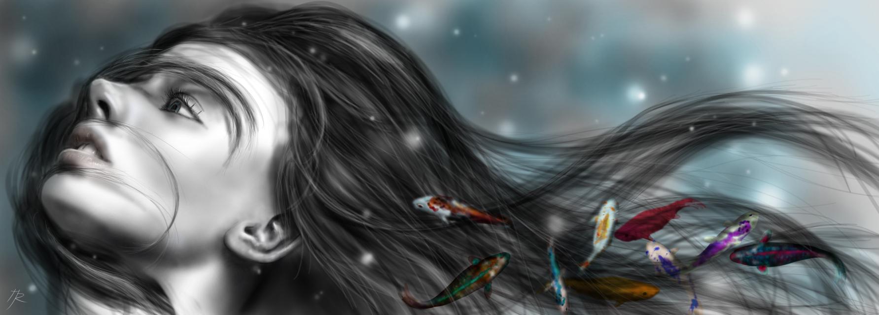 Drawn with Krita on Microsoft Surface.  #drawing #digitaldrawing #fantasy #digitalpainting
