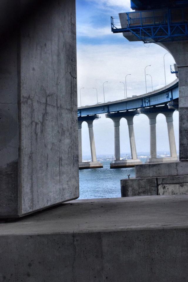 Through the Curve Bridge #art  #interesting  #california  #bay  #cool