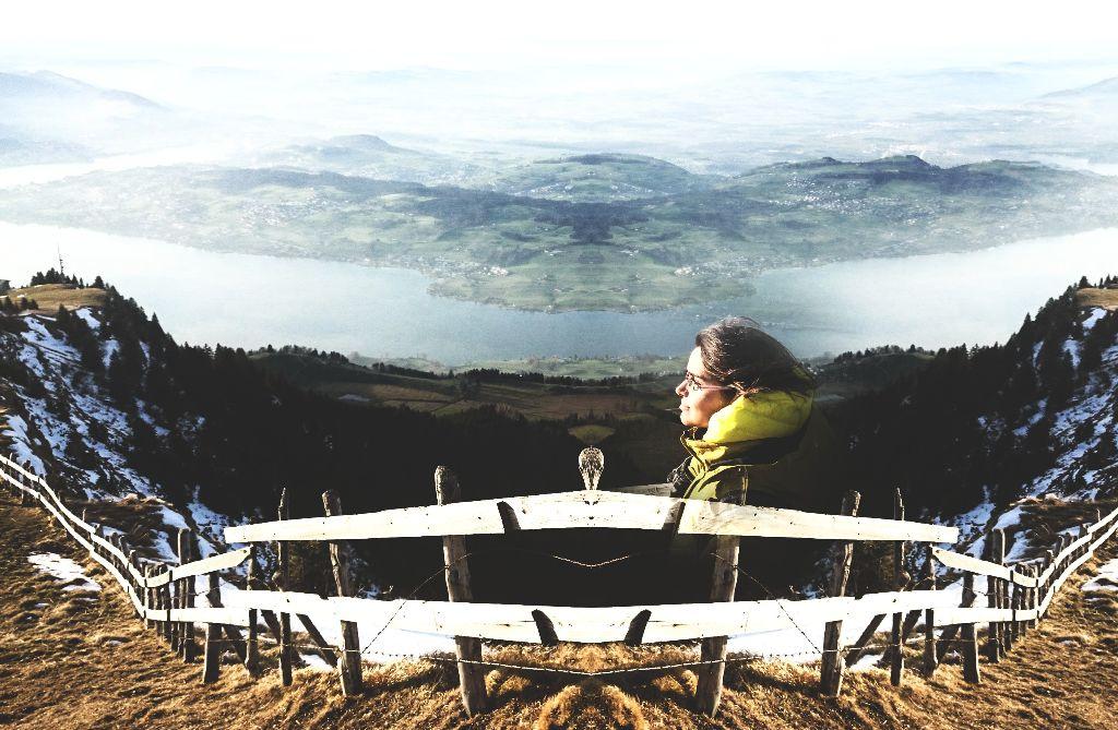 #mirror  #drama #swissalps  #flying body #mountain  #nature #editing  #photography  #picsart  #Switzerland