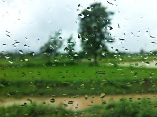 car window water drops photography