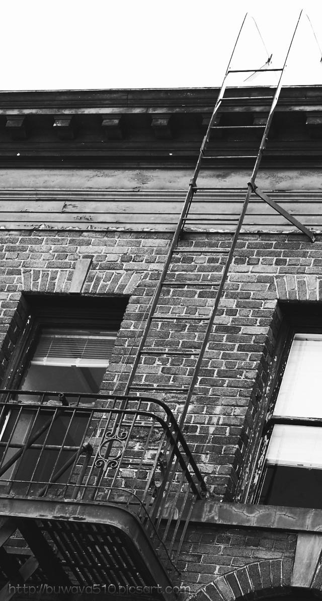 #photography #blackandwhite #balcony #brick #pov #simple