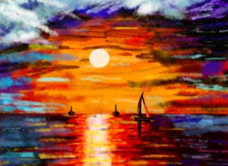 followforfollowback dchorizon sunset sunrise digitalart