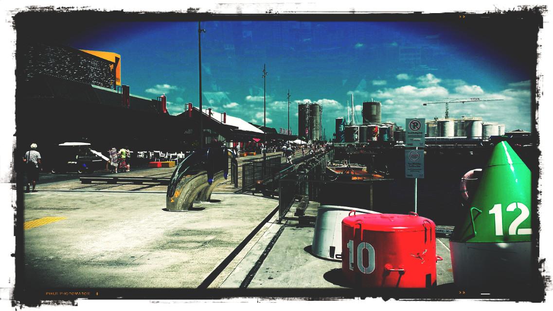 #wharf #dock #colour #new zealand