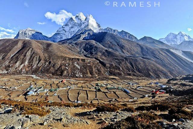 mt. Ama Damlam 6856 and dingboche Valley 4410m  #everesttrekking #khumbu #adventure #nepaltrekking #nepal