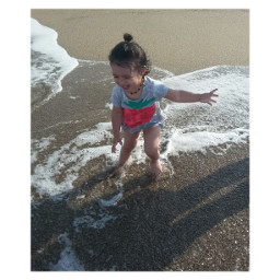 baby turkey love summer beach