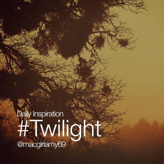 twilight effect Friday inspiration