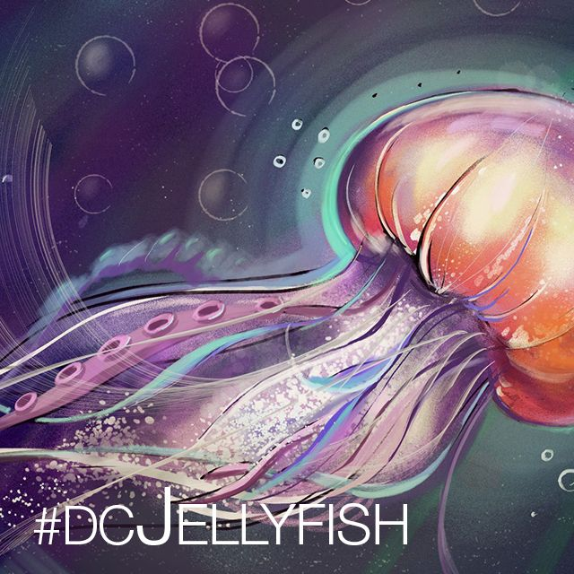 Jellyfish drawing contest