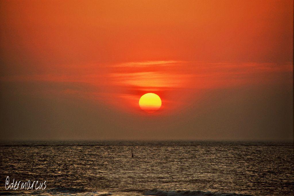 #sunset   #northsea  #travel  #nature