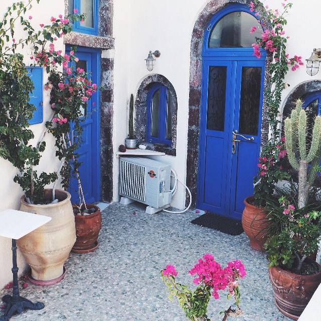 Typical Santorini House