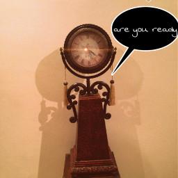 clock ticking old