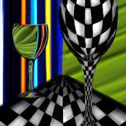 dcstilllife surreal colorful drawing