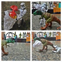 stormtrooper starwars dinossauro candy bombom