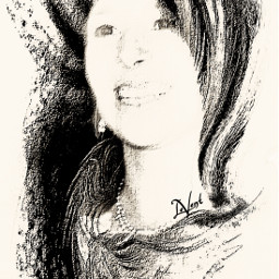 interesting myedit drawing picsarttools blackandwhite effect sharpen beautifypicsart artisticportrait
