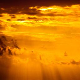 yellow simpleedited sky people clouds