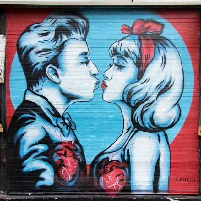 #streetart by #zabou #London