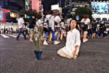 shibuya tokyo japan artistic people