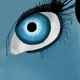 sketch blue drawsomethingshowcase
