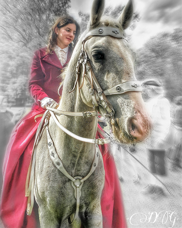 #love #girl #animal #horse #people #photography #cute #nature #hdr